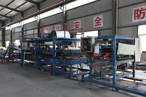 彩钢复合板生产线